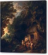 Cottage Door, C.1780 Canvas Print