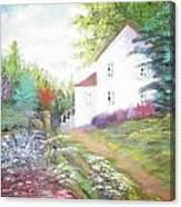 Cottage Gardens Canvas Print
