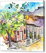 Cottage In Barca De Alva Canvas Print