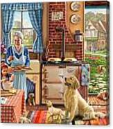 Cottage Interior Canvas Print