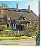 Cottage Of The Cotswolds Canvas Print
