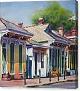 Cottage Row Canvas Print
