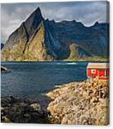 Cottage With A View Canvas Print