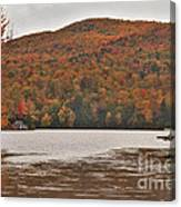 Cottages On Greenwood Lake Canvas Print