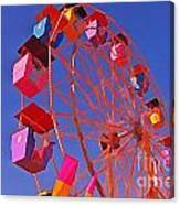 Cotton Candy Ferris Wheel Canvas Print