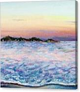Cotton Candy Waters Canvas Print
