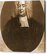 Cotton Mather 1728 Canvas Print