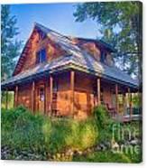 Cottonwood Cottage  Canvas Print