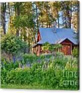 Cottonwood Cottage Spring 2014 Photographs Taken By Omaste Witko Canvas Print