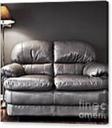 Couch And Lamp Canvas Print