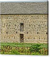 Council Grove Kansas Stone Barn Canvas Print