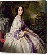 Countess Alexander Nikolaevitch Lamsdorff. Maria Ivanovna Beck Canvas Print
