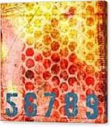 Counting Circles Canvas Print