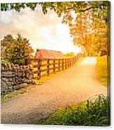 Country Alley Canvas Print