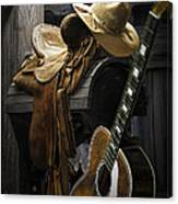 Country And Western Music Canvas Print