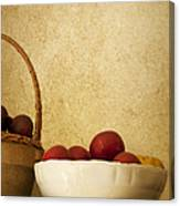 Country Apples Canvas Print