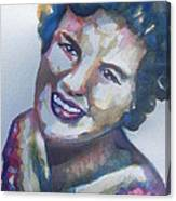 Country Artist Patsy Cline Canvas Print