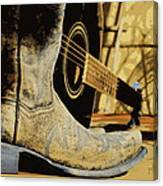 Country Blues Canvas Print