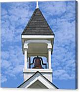 Country Church Bell Canvas Print