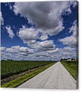 Country Clouds Canvas Print