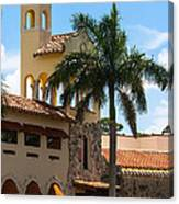 Country Club Of Coral Gables Canvas Print