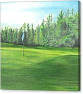 Country Club Canvas Print