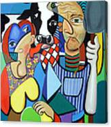 Country Cubism Canvas Print