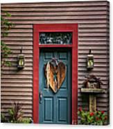 Country Door Canvas Print