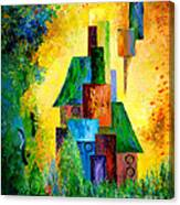 Country Estate Canvas Print