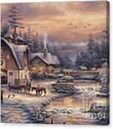 Country Holidays 2 Canvas Print