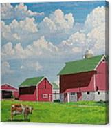 Country Home Canvas Print