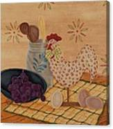 Country Kitchen Canvas Print