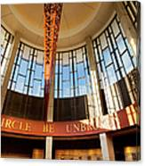 Country Music Hall Of Fame Canvas Print