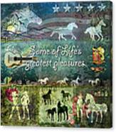 Country Pleasures Canvas Print