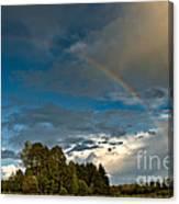 Country Rainbow Canvas Print