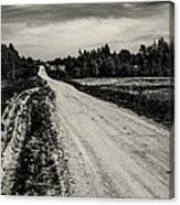 Country Road Take Me Home 1. Canvas Print