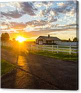 Country Skies Canvas Print