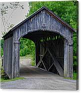Country Store Bridge 5656 Canvas Print