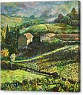 Country Sundown Canvas Print