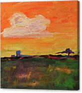 Country Twilight Canvas Print