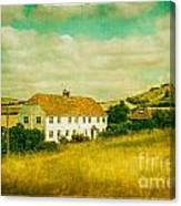 Countryside Homestead Canvas Print
