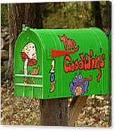Countryside Mailbox #15 Canvas Print