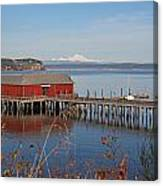 Coupeville Jetty Canvas Print