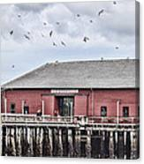 Coupeville Wharf Canvas Print