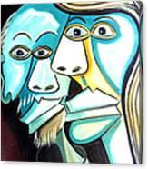 Couple Canvas Print