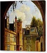 Cour Hotel De Cluny Mnma Cl23879 Canvas Print