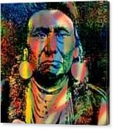 Courage Chief Joseph Canvas Print