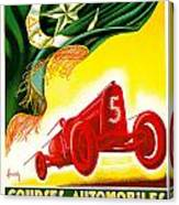 Courses Automobiles D Oran Canvas Print