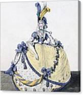 Court Dress, Fig. 106 From The Gallery Canvas Print