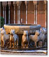 Court Of The Lions In The Alhambra Canvas Print